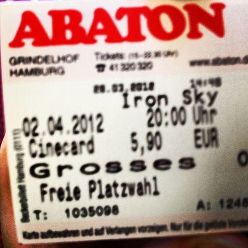 #ironsky tickets! ☺ Ironsky