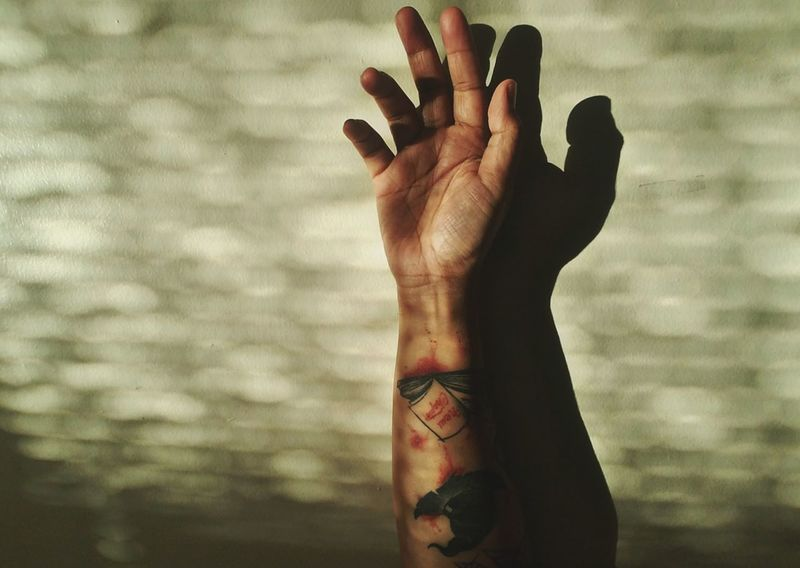There is still life left in me. There is still love left in me.- e.v Human Hand Body Part Love Getting Inspired EyeEm Best Shots EyeEm Mobile Photography Human Body Part Tattoo