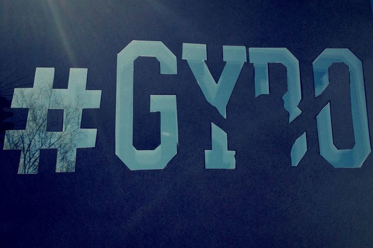 Sky stencil Stencil Stencil Art Experimental Experiment Silhouette Text HASHTAG Gybo Getyourbellyout Sky Blue