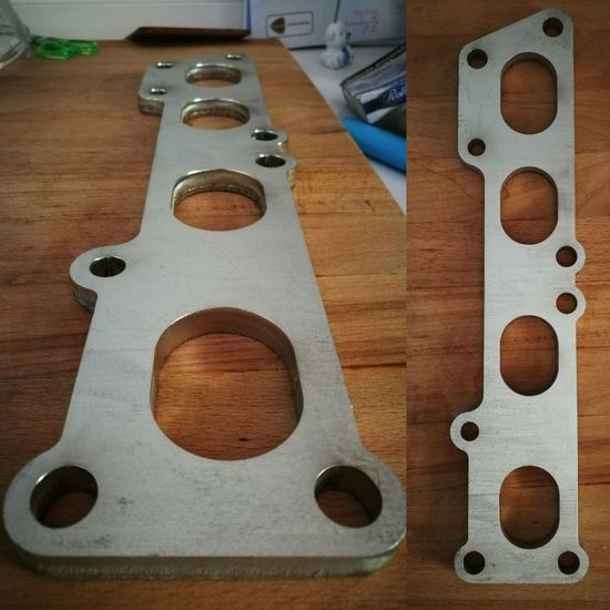 3sgte 3sge Revision Inox 304 Flange Flangia Laser Cut Lasercut For Customization With Tig Weld