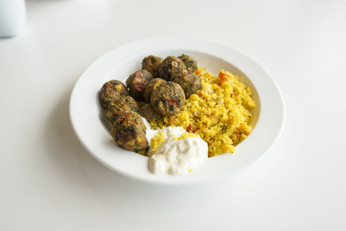 Ikea Food Cous Cous Food IKEA IKEA Food Lunch Plate Table Vegetable Balls