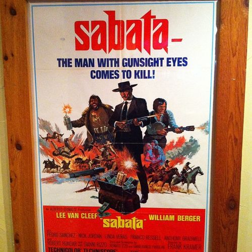 If anyone has this movie or knows where to buy it let me know. I can't find it anywhere and it rarely plays on encore westerns Sabata