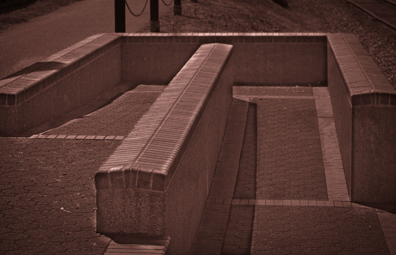 no people, steps, architecture, outdoors, built structure, day