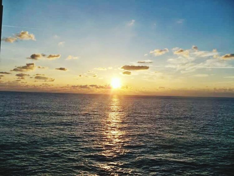 Dawn in mombasa kenya