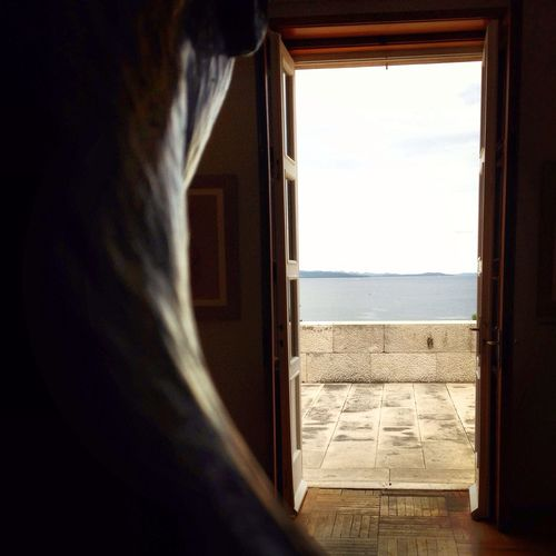 Light And Shadow Skyline Sea Art