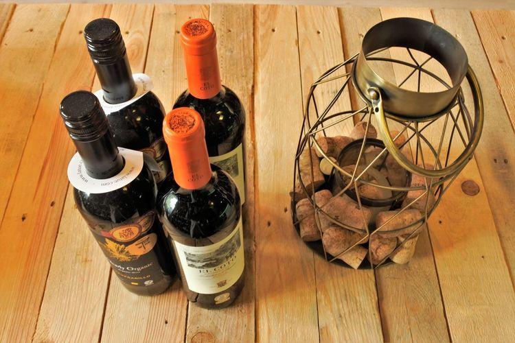 Cork - Stopper Bottle Wine Bottle Indoors  Still Life Table Alcohol