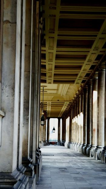 Architectural Column London Sunlight EyeEm Best Shots Greenwich Naval College 21st Birthday! Shadow And Light