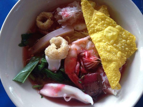 Huahin hin thailand] Lunch thailan สายแดก Noodles