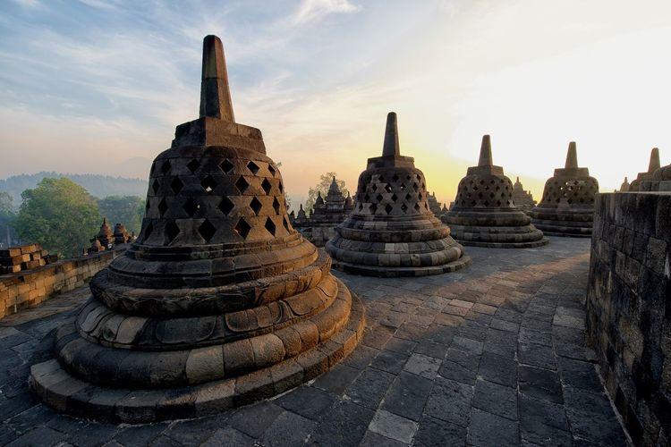 Architecture Borobudur Buddhism Buddhist Temple INDONESIA Majestic Religion Stunning Temple