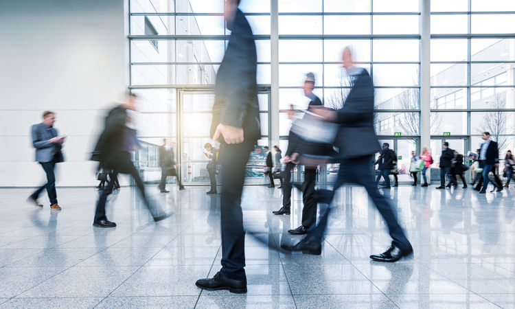 Blurred business people walking in a team in a modern floor Adult Architecture Business Community Modern Rush Hour Teamwork Well-dressed Abstract Activity Airport Blurred Motion Business Finance And Industry Businessman Commuters Crowd Exibition Indoors  Large Group Of People Long Exposure Men Motion Team Trade Fair Walking