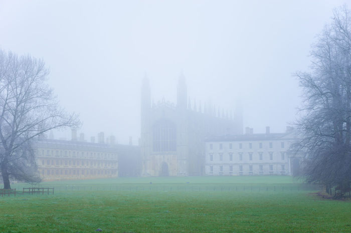 Cambridge Architecture Architecture_collection Autumn Britain British Building Cambridge Campus My Student Life Façade Fog Grass International Landmark Landmark Library Mist Misty Old Old Buildings Rain Spring Student Travel Traveling University
