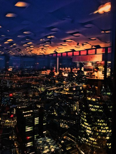 Restaurant light reflections. Architecture Bustling City City Lights Illuminated Nature Night Night Lights Night Time No People Outdoors People Restaurant Sky Window Reflections