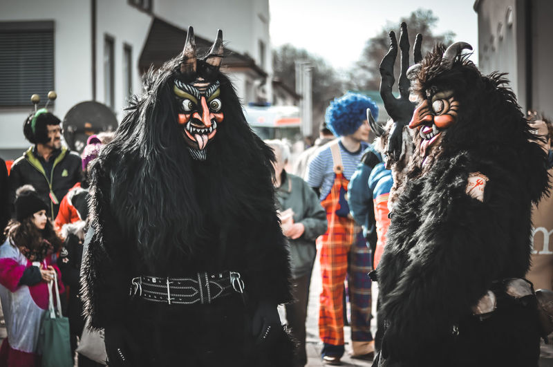 Fasching . EyeEm Best Shots EyeEm Selects Festival Childhood Photography EyeEmBestPics EyeEm Best Edits Streetphotography City Life Street Day Warm Clothing Friendship City Party - Social Event Smiling City Street My Best Photo