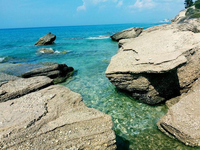 Pietre Cadute Seccagrande Sea And Sky Seascape Sea
