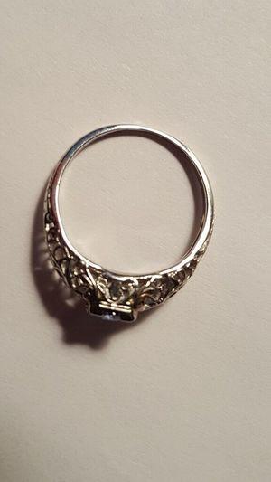Antique 1920's Ring - Platinum - Saphire Platinum 1920s Vintage Vintage Ring Open Filigree Filigree Beautiful Sapphire Sapphire Ring Sapphire Blue Blue Precious Metal Precious Gem Gemstone  Gemstoneart Gold Gold Colored