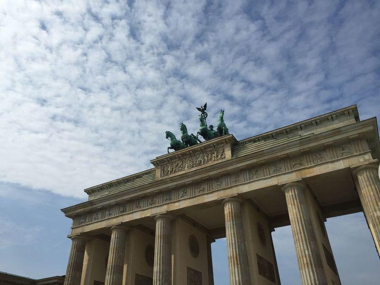 Brandenburgertor Berlin Architecture Skyporn EyeEm Best Shots Eyemphotography Hello World