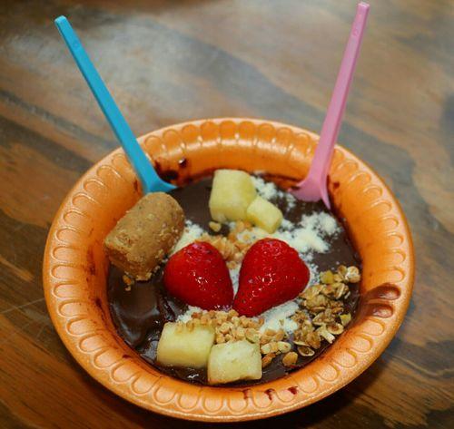 Delicious Lecker Tasty Strawberry Paçoca Peanut Pineapple Delicia Fresa Morango Cacahuete Ananas Piña Açai Chocolate Schokolade Czekolada