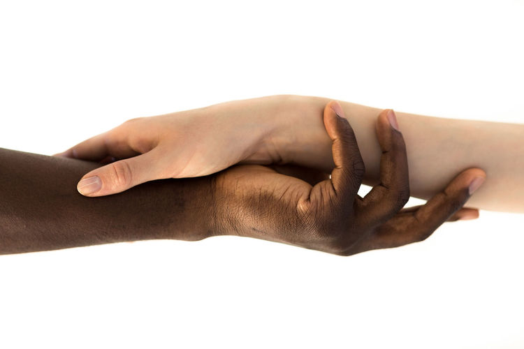 Friendship Close-up Couple Couple - Relationship Diversity Friends Friendship Hand Holding Hands Human Arm Human Body Part Human Hand Interracial Love Love People Relationship Studio Shot SUPPORT Touching White Background Young Adult EyeEmNewHere