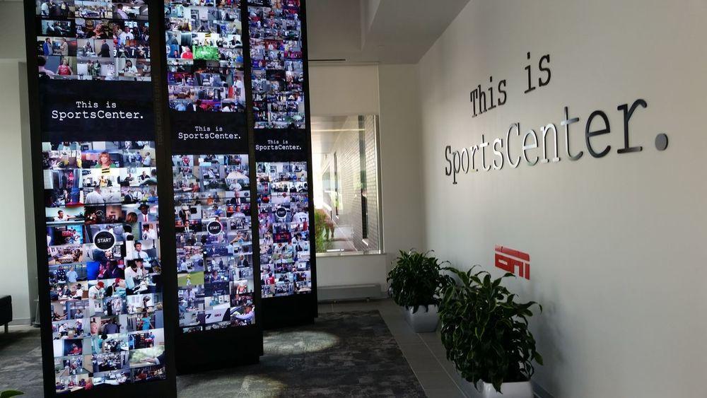 ESPN Studios. Bristol, Connecticut. ESPN Bristol Connecticut Sports SportsCenter Studio