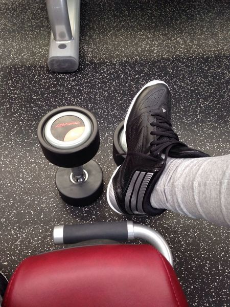Excercising Sore Muscles Gym Love