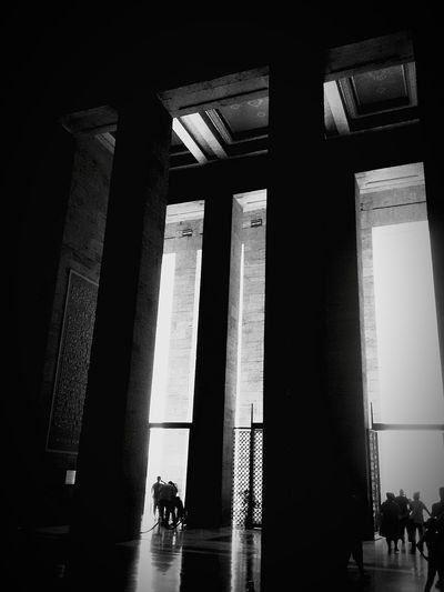 Turkey Ankara Anitkabir Museum Black And White Learn & Shoot: Single Light Source