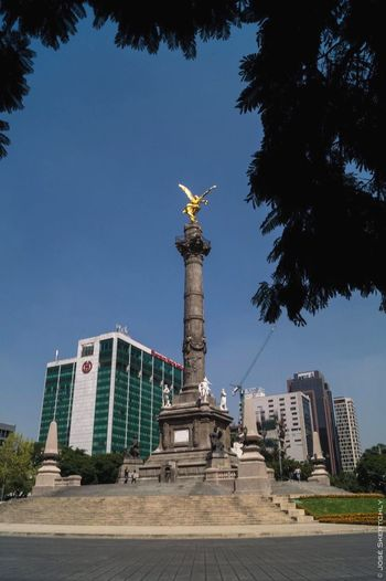 Mexico City Independence Angel
