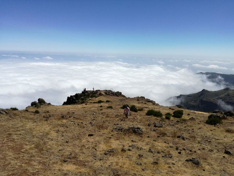 nature outdoors sky beauty in nature Madeira Island cloud - sky Portugal Tranquility tourism mountain day