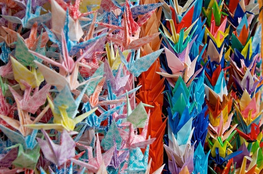 The Art of origami. #paper #paper Art Colors Japan Japan Photography Color Detail Origami Origami Art EyeEmNewHere