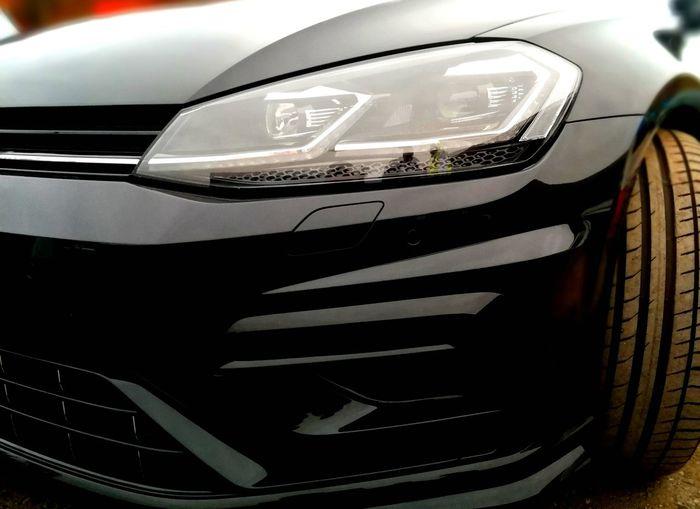 Golf R Volkswagen Lovely Car Car Close-up