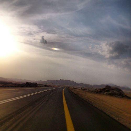 The Travel Road from Tabuk to Duba saudi_arabia saudi arabia تبوك ضبا