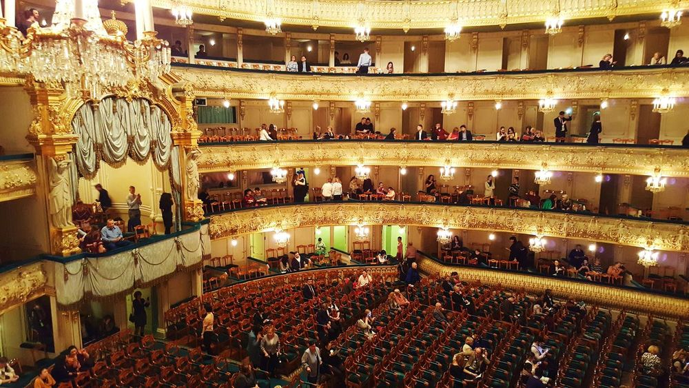 Large Group Of People People Indoors  Illuminated Architecture Arts Culture And Entertainment Theatrical Performance Performance Theater Theater Photography Mariinsky Theatre St. Petersburg Russia St. Petersburg, Russia Theather Break Time Break Box Royal Box Architecture Seats Theater Seats