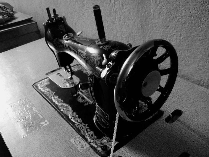 Tailored To You Stitching Machine Old Model Wheel Stitch Black And White Vintage Mobile Photography Mymobilephotography Steel Thread Screw Vintage Machine Needle Machinery Machine Part Antique Showcase July Fine Art Photography