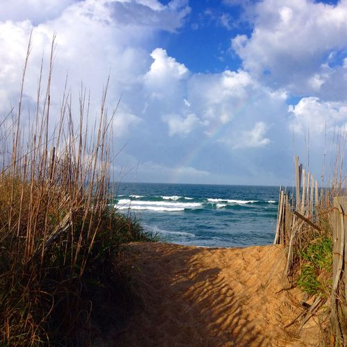 Better Look Twice Rainbow Beach Outerbanks Myhappyplace 👌🏽🌊🌈