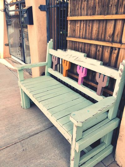 Wood - Material No People Chair Day Indoors  Outdoors Bench Cactus Handmade Desert Desert Theme Southwest  Public Places EyeEmNewHere