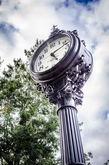 Clock Sky Clouds And Sky Maine