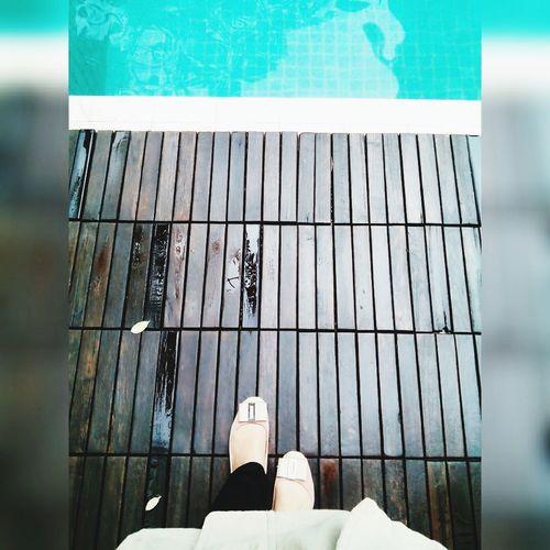 Taking Photos Hello World Enjoying Life Walking Swimmingpool Jakarta Indonesia