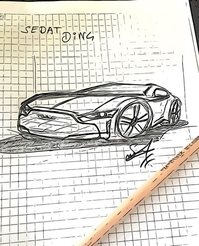 Car design tasarım Sketch Design Car Paper Communication No People Text Pattern Backgrounds Close-up Technology White Color Science Sheet Musical Note Scribble Publication Message Activity