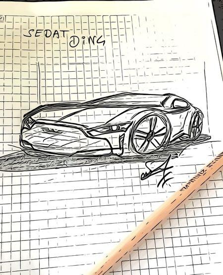 Car design tasarım Sketch Design Car Paper Communication No People Text Pattern Backgrounds Close-up Technology White Color Science Sheet Musical Note Scribble Publication Message Activity