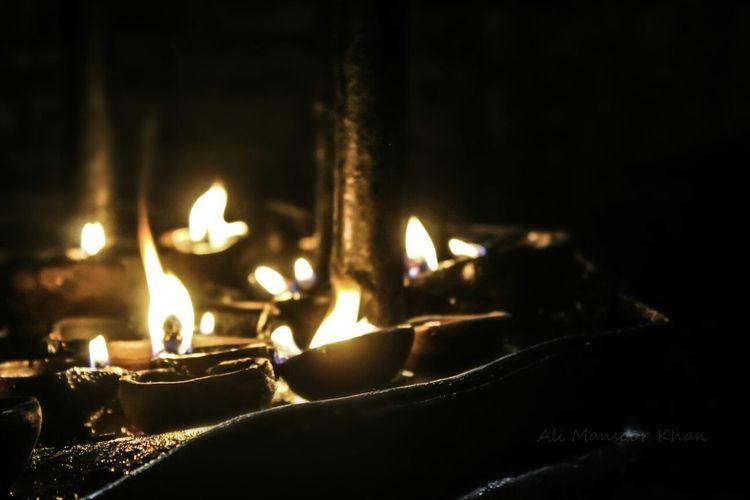Diya Light In The Darkness Lamps Okara Creative Light And Shadow