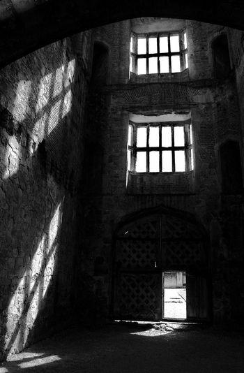 Titchfield Abbey Titchfield Window Shadows Shadows & Lights