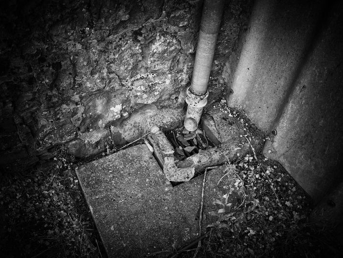 Close-up Day Drain Growth Lumix 14mm Nature No People Panasonic GX7 Tranquility