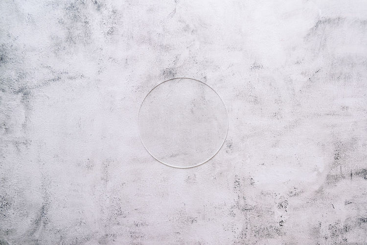 High angle view of bubbles on wall