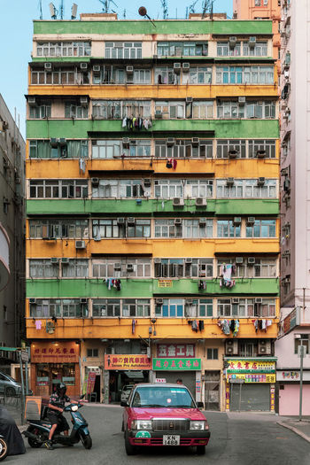 Kwun Tong Architecture Old Buildings 觀塘 官塘 Taxi EyeEm Best Shots EyeEm Selects EyeEm Gallery Building Exterior Mode Of Transportation City Built Structure Car Motor Vehicle Transportation Land Vehicle Residential District Building Street Day Road No People Outdoors City Life Nature Apartment The Architect - 2019 EyeEm Awards