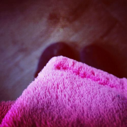 Stuck inside. Photos of everyday life. Taking Photos Relaxing Close-up Abstract Pink Chilling Fabric Dressing Gown