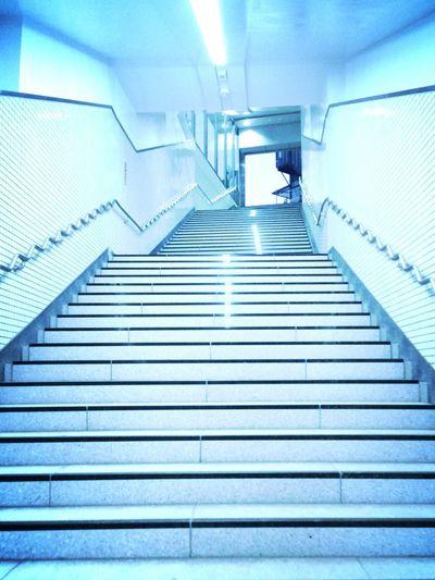Tokyo Japan Shibuya Stairs