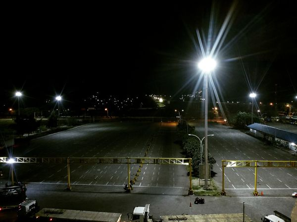 Light in the dark City Illuminated Floodlit Sky Street Light Lamp Post Traffic Light  Flashlight
