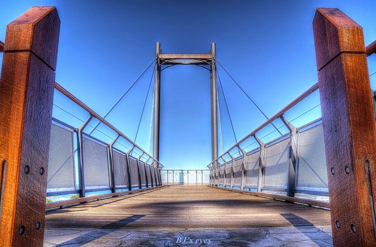 Look out Architecture Built Structure Sky The Way Forward Bridge Bridge - Man Made Structure Connection