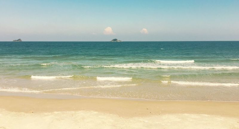Beach Vacation Time Sea And Sky Photography Sea Traveling Seascape Sky Sea View Waves, Ocean, Nature The Essence Of Summer