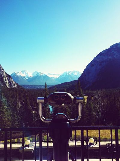 Another day in the mountains.View Landscapes Banff  Banff Springs Hotel Canada