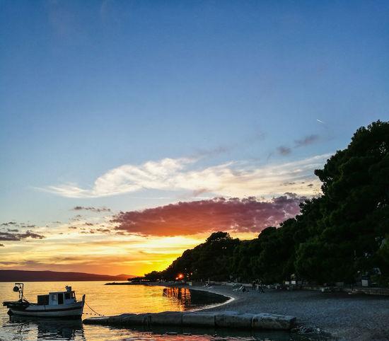 Brela  Croatia Boat HuaweiP9
